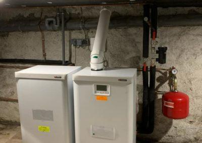 Chaudière gaz condensation / Bas en Basset
