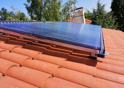 Panneaux Solaire Thermique / L'Etrat